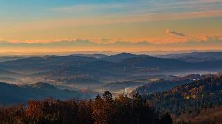 Oberkreuzberg Alpenblick